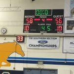 Walnut High School Boys Freshman Basketball beat Upland High School 58-56