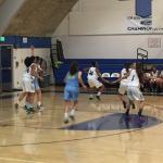 Walnut High School Girls Varsity Basketball beat Banning – Duarte Tournament 63-27