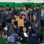 Walnut High School Boys Varsity Wrestling finishes 1st place