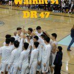 Walnut High School Boys Varsity Basketball beat Diamond Ranch High School 51-47