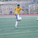 Walnut High School Boys Junior Varsity Soccer beat Diamond Ranch High School 2-1
