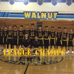Walnut High School Boys Freshman Basketball Win League at 10-0