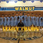 Walnut High School Boys Junior Varsity Basketball Win League at 10-0