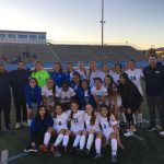 Walnut High School Girls Varsity Soccer falls to Bloomington High School 2-1