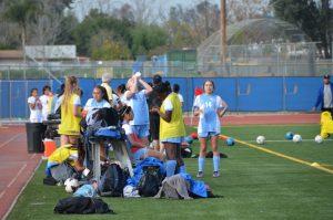Varsity Girls Soccer vs Bloomington 02-16-2017