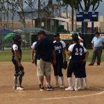 Walnut High School Varsity Softball falls to Chino High School 10-0