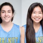 Walnut's Yasmin Dabbous and Jenna Pitpit on All-Area Basketball Team