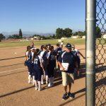 Walnut High School Varsity Softball Lost to West Covina High School 10-4