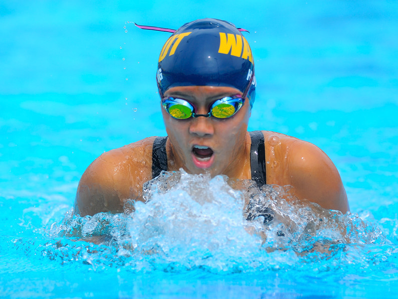 Girls Varsity Swimming beats West Covina 137 – 32