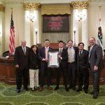 Evan Sentoso Receives CIF State Scholar Athlete Award