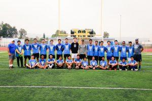 Boys Soccer Summer Camp