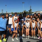Girls Tennis Undefeated Hacienda League Champions