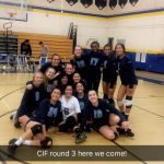 Walnut High School Girls Varsity Volleyball beat California 3-1