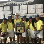 Walnut High School Girls Varsity Golf finishes 1st place