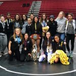 Girls Wrestling takes home 9 Medals