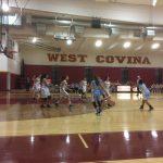 Girls Junior Varsity Basketball falls to West Covina 48 – 21