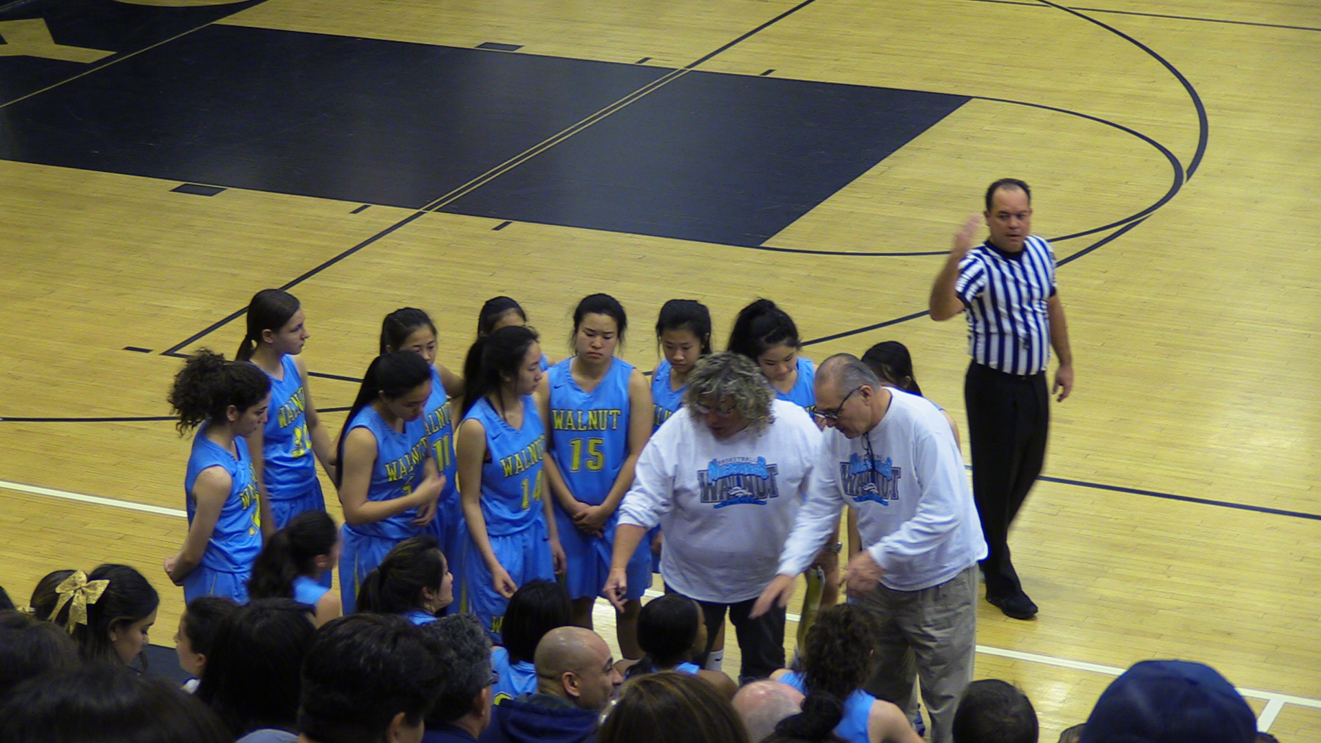 Girls Varsity Basketball beats Canyon/Anaheim 65 – 56