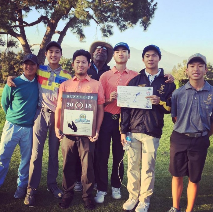Alrik Pan Shoots 66 To Win CIF and Lead Team To 2nd Place