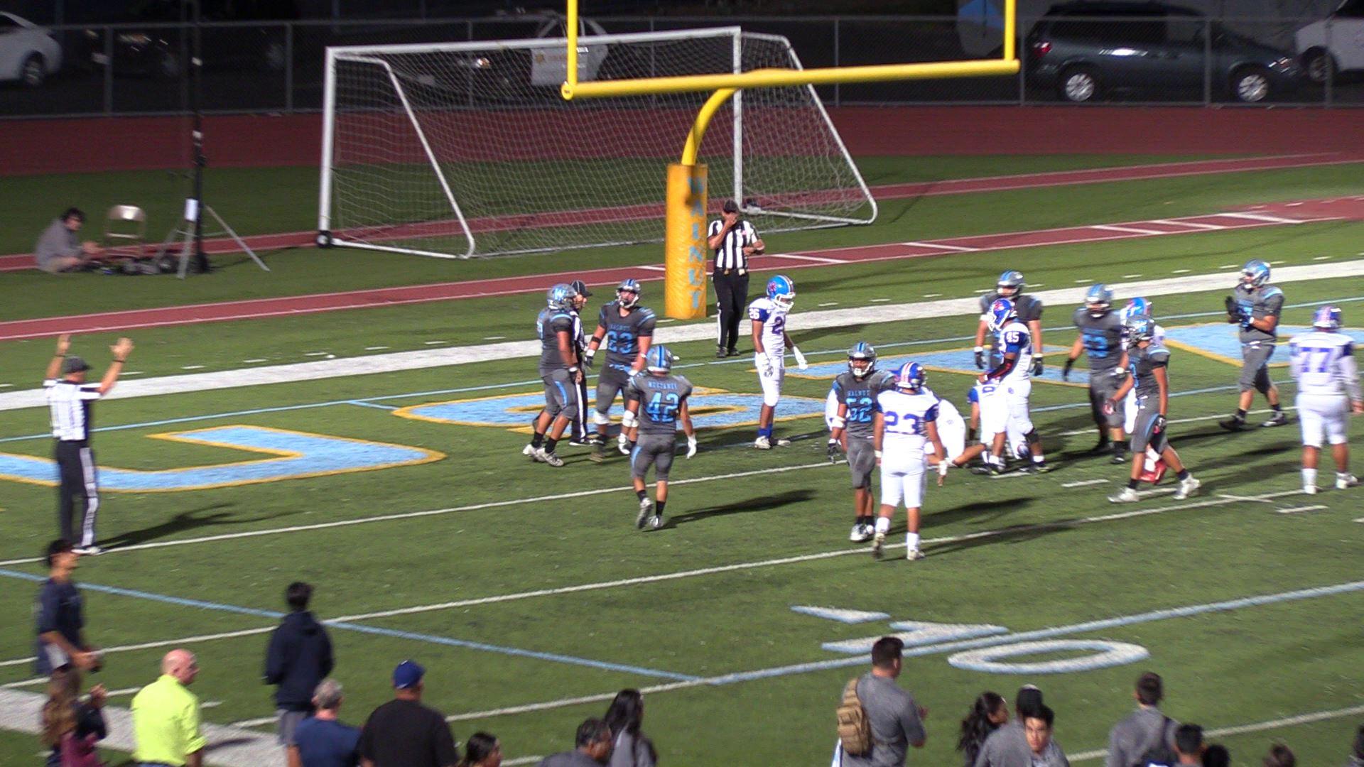 Boys Varsity Football beats San Gabriel 35 – 13