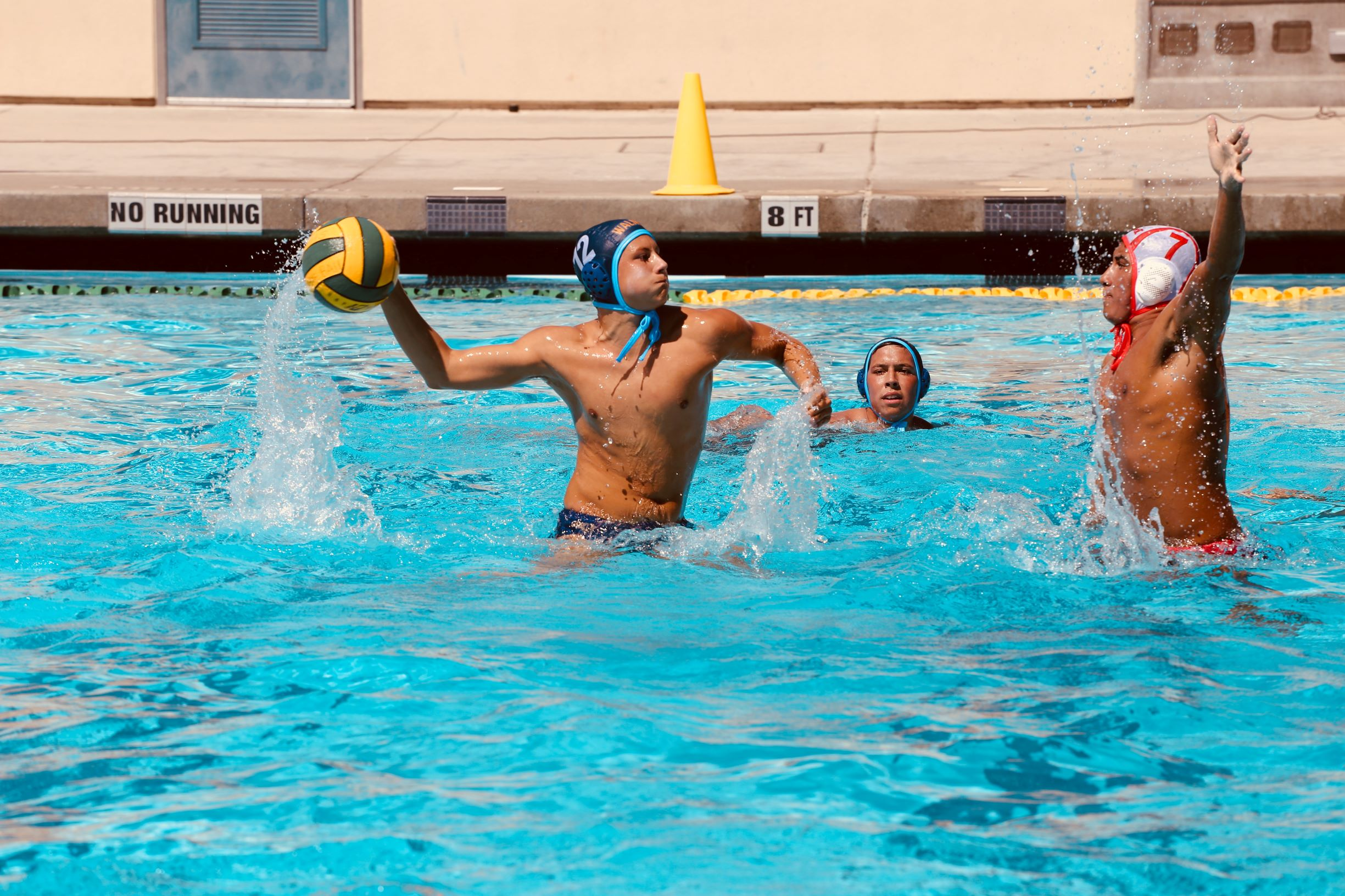 Boys Water Polo Places 4th in the DBHS Bull Run Tournament