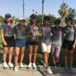 Girls Golf Wins 7th Straight Hacienda League Championship