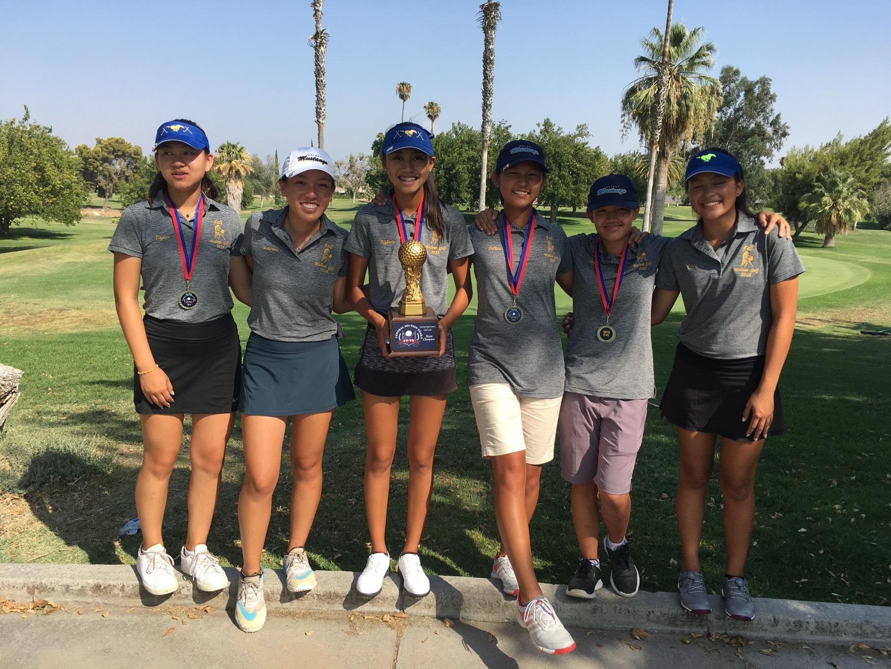 Girls Golf Wins 7th Straight Hacienda League Championship
