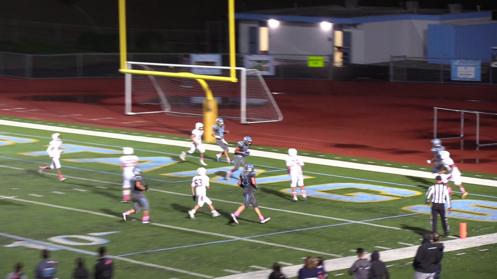 Boys Varsity Football falls to West Covina 22 – 8