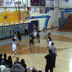 Girls Varsity Basketball Opens League with a win against South Hills 57 – 22