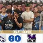 Boys Varsity Basketball beats Mountain View 60 – 21