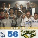 Boys Varsity Basketball beats Eisenhower 56 – 51