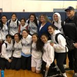 Girls Varsity Basketball Wins CIF 1st Round Game against Burroughs