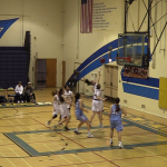 Girls Varsity Basketball falls to Millikan 65 – 53