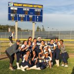 Softball Breaks in new scoreboard with win against Diamond Bar 4 – 3