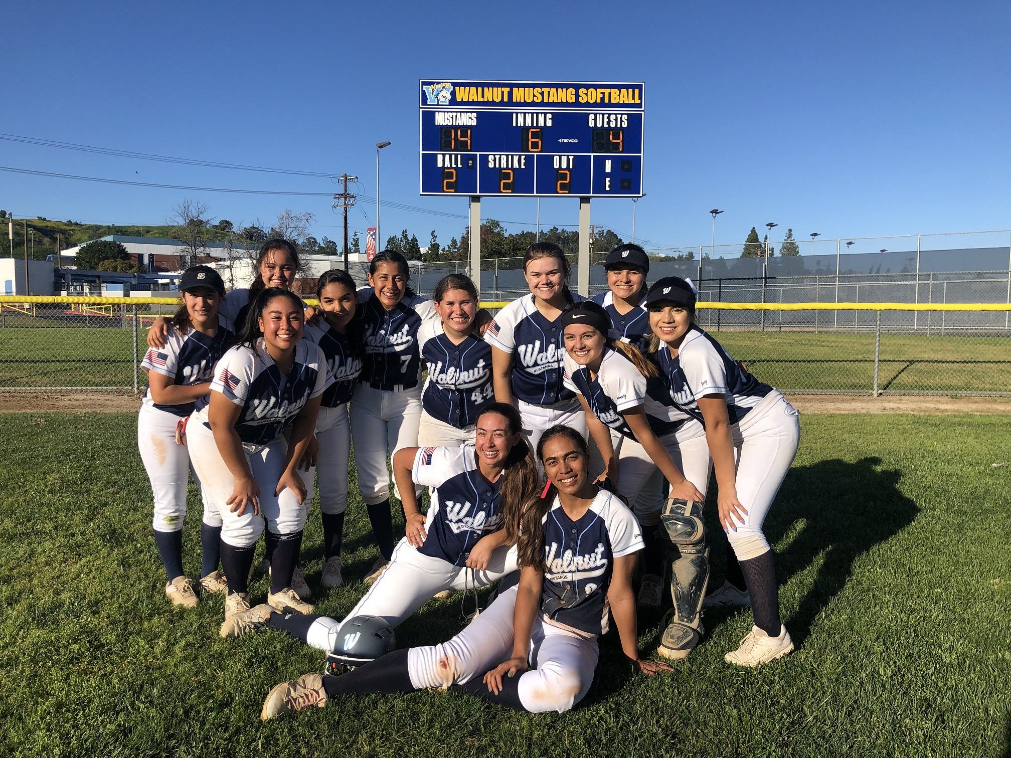 Softball beats Los Altos to for the First Time in Hacienda League Play