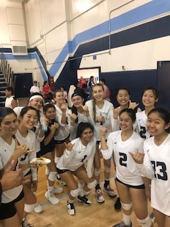 Girls Varsity Volleyball beats Northview 3 – 0