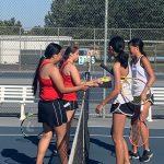 Girls Varsity Tennis beats Los Altos 17-1