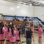 Girls Varsity Volleyball beats South Hills 3 – 2