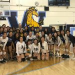 Girls Varsity Volleyball beats Charter Oak 3 – 0