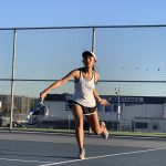 Girls Varsity Tennis Beats West Covina 14 to 4