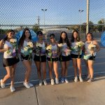 Girls Varsity Tennis beats Charter Oak 16-2