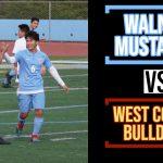 Boys Varsity Soccer beats West Covina 3 – 1