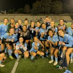 Girls Varsity Soccer team beat Charter Oak 2-1.