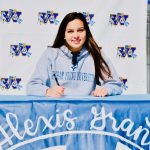 Mustang Swimmer Alexis Grant Signs Letter of Intent