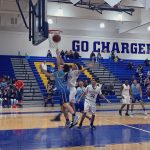 Boys Freshman Basketball beats Charter Oak 45 – 34