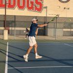 Boys Varsity Tennis beats Ayala Rubin 12 – 6