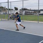 Boys Varsity Tennis beats Troy 12-6