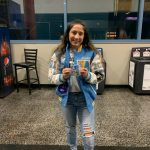 Angie Cervantes Receives Medal at CIF State Wrestling