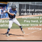 Senior Highlight Manny Salinas