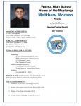 Hacienda 5 Honoree Matthew Moreno