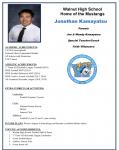Hacienda 5 Honoree Jonathon Kamayatsu